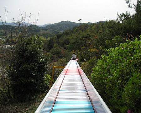 蜂ヶ峯公園 滑り台