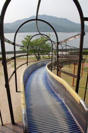 小田島公園 ローラー滑り台2