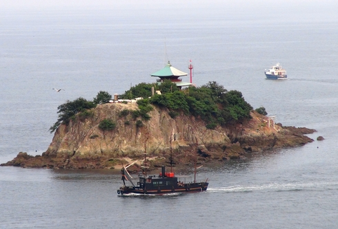 福山市 鞆の浦 弁天島の画像