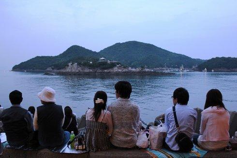 福山鞆の浦弁天島花火大会2012 画像11