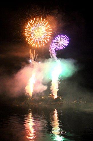 福山鞆の浦弁天島花火大会2012 画像12