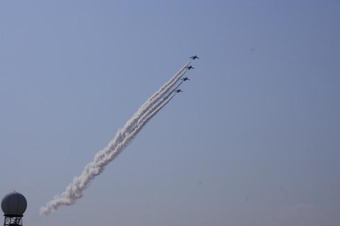岩国基地 ブルーインパルス 自衛隊航空ショー 画像6