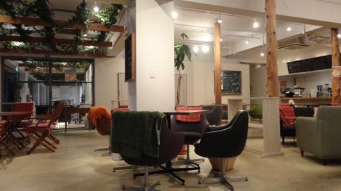 広島市安佐南区 マイカフェ(my cafe)、美容院と併設