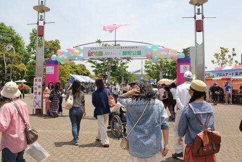 福山ばら祭2012 緑町公園の様子46