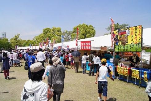 福山ばら祭2012 緑町公園の様子6