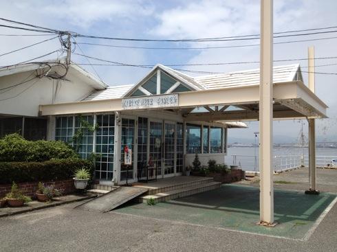 坂町 カリブ、海辺の 知る人ぞ知るレストラン!ドッグカフェとしても