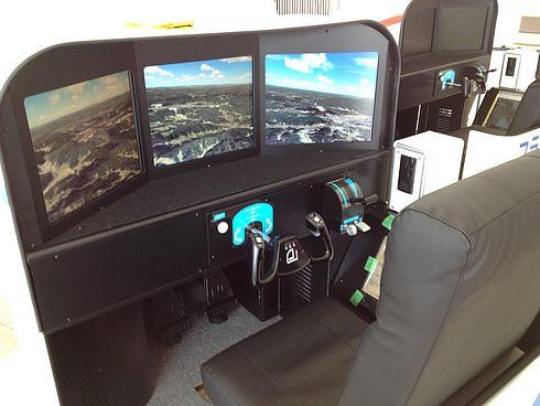 操縦体験 フライトシミュレーター