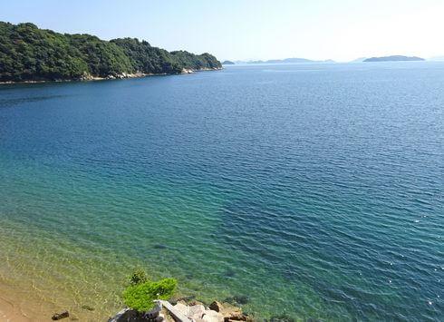 桂浜海水浴場の海が綺麗!呉市の人気ビーチ