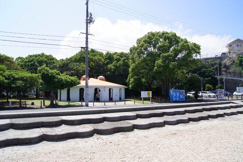 マリンふれあいの里 大浦崎公園のシャワールーム