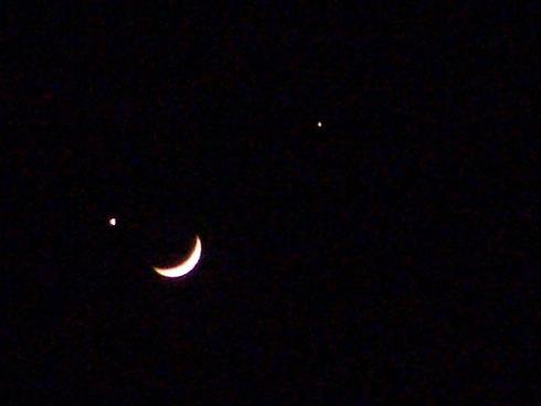 土星 スピカ 月が(ほぼ)一直線に並ぶ!7月25日夜