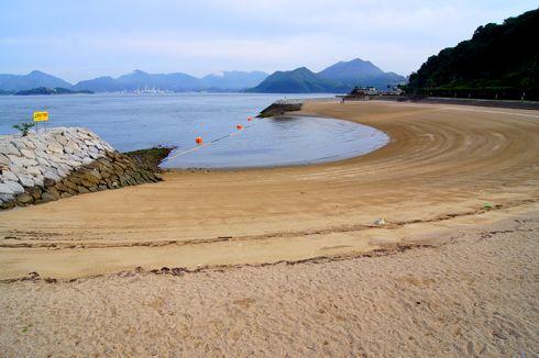 すなみ海浜公園 南側ビーチの画像