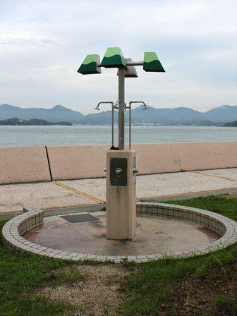 すなみ海浜公園 簡易シャワー