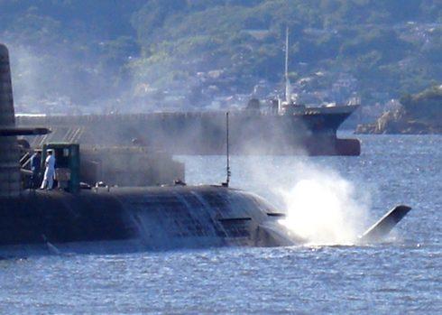 アレイからすこじま 潜水艦