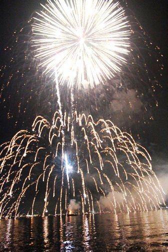 宮島水中花火大会2012 の画像6