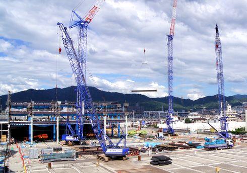 コストコ 広島倉庫店が2013年春オープン!工事の様子