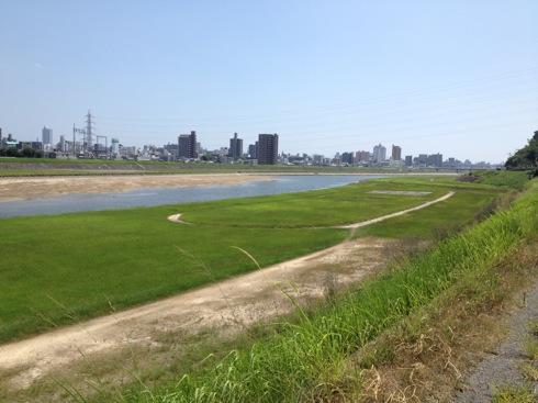 広島のcafe 川辺の四季からの眺め 3