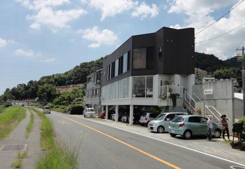 広島のcafe 川辺の四季の 外観画像