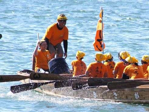 因島水軍まつり、海まつりの小早レース
