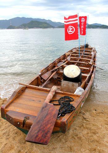 因島水軍祭り・海まつり 小早レースに使われる船