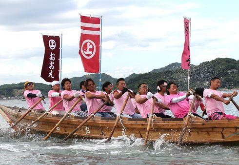 因島水軍祭り・海まつり 小早レース 画像6