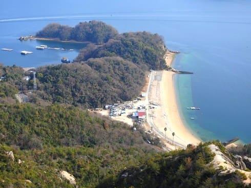 ビーチ長浜(長浜海岸)夏の江田島でキャンプやマリンスポーツ体験も