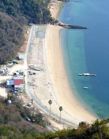 ビーチ長浜、江田島の海水浴場・ホテル・カヌーなど