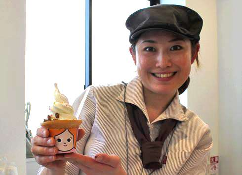 スイーツ姫のソフトクリーム 画像