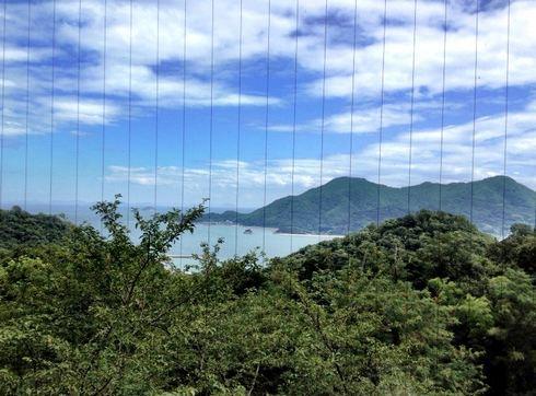 ホテルいんのしま から見下ろせる景色の画像2