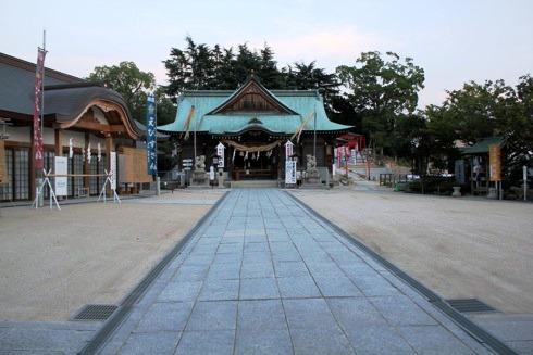 因島 大山神社  本殿