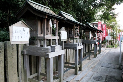 因島 大山神社の境内 いろいろ