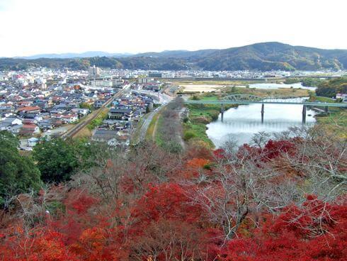 三次市 尾関山公園 の頂上からの画像2