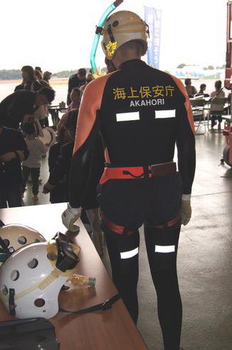 潜水士の写真