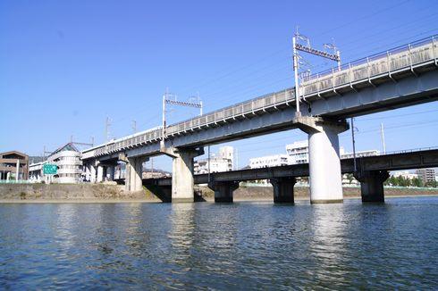 雁木タクシーで 川から広島をパノラマビュー!