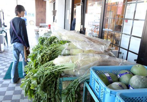 甲山いきいき村、世羅の農産物市場 大根まつり