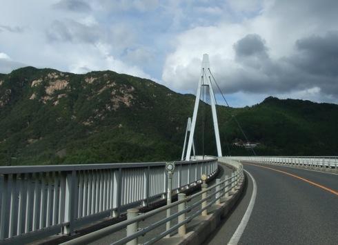 山口県 弥栄湖 にかかる 弥栄大橋2