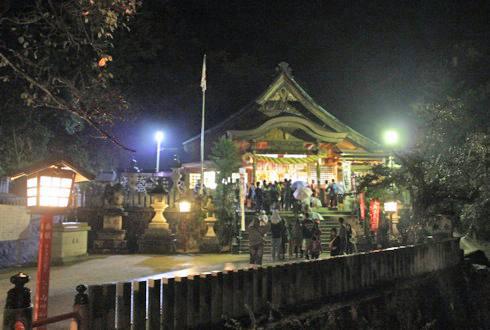 大頭神社 例祭 前夜祭の画像