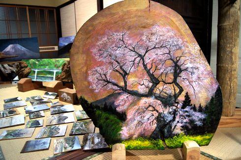 三良坂、森田則清さんのアート作品たち