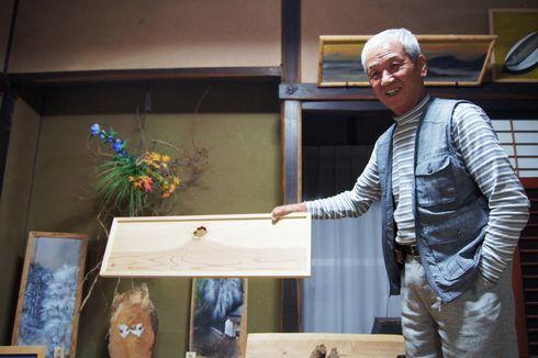 三良坂、森田則清さん