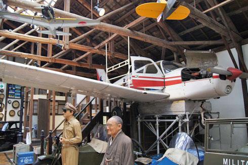 自動車時計博物館 飛行機の画像