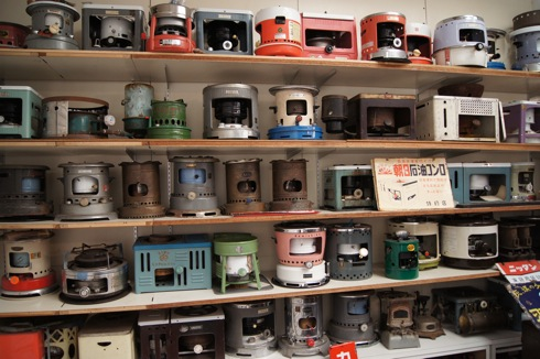 自動車時計博物館 ガスコンロコレクション