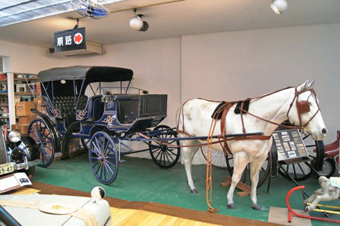 自動車時計博物館 馬車の画像