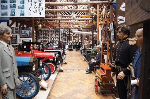 自動車時計博物館 館内全体の様子