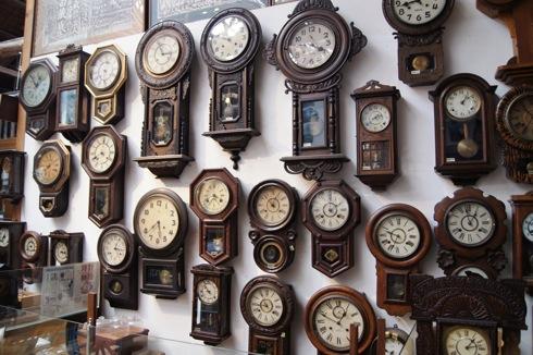 自動車時計博物館 振り子時計コレクション