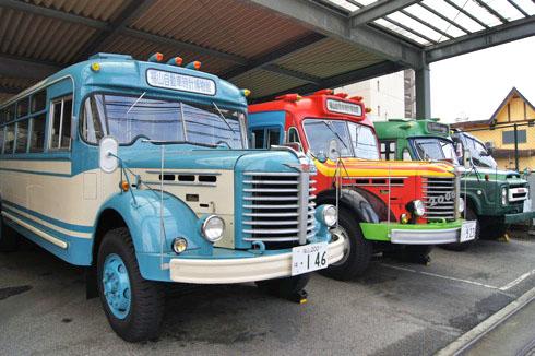 自動車時計博物館 送迎用ボンネットバス