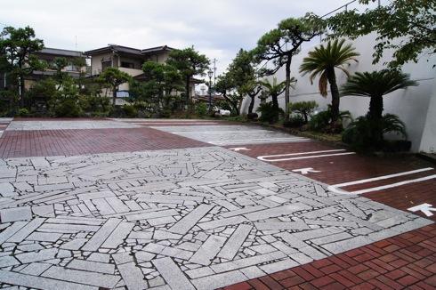 自動車時計博物館 駐車場