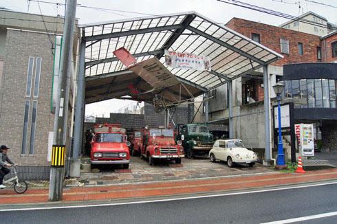 自動車時計博物館 野外倉庫