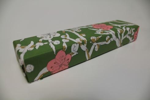 柿羊羹 祇園坊 外の包装紙