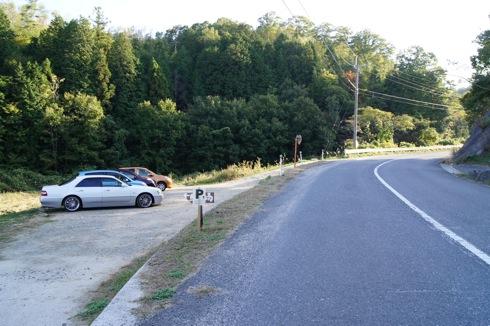 世羅 おへそカフェ 駐車場の画像
