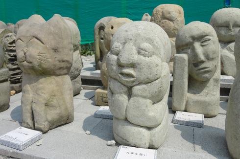 瀬戸田 石像アートの画像3