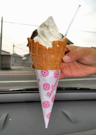 うずみソフトクリーム、福山ご当地ソフト 気になるお味は?